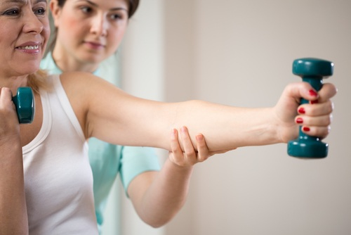 Strength training with Physiotherapy